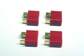 T型2Pコネクター(メス/4個入)[SQUARE]《発売済・在庫品》