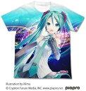 初音ミク V3 フルグラフィックTシャツ ver.2.0/ホワイト-XL(再販)[コスパ]《07月予約》