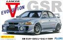 1/24 インチアップシリーズ No.100 三菱 ランサーエボリューションV GSR 窓枠マスキングシール付 プラモデル[フジミ模型]《取り寄せ※暫定》