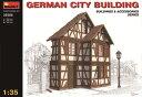 1/35 ドイツの都市の建物 ジオラマアクセサリー(再販)[ミニアート]《取り寄せ※暫定》