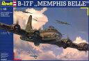 "1/48 B-17F ""メンフィスベル"" プラモデル[ドイツレベル]《取り寄せ※暫定》"