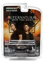 1/64 SUPERNATURAL (TV SERIES 2005 - CURRENT)1970 DODGE CHARGER (EPISODE 7.17)(再販)[グリーンライト]《取り寄せ※暫定》