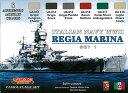 Camofurage RegiaMarina Italiana Set1(再販)[Lifecolor]《取り寄せ※暫定》