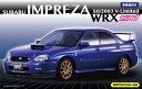 1/24 インチアップシリーズ No.103 スバル インプレッサ WRX Sti/2003 V-Limited 窓枠マスキングシール付 プラモデル[フジミ模型]《取..