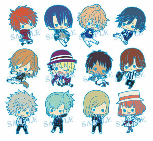 Rubber Strap Collection - Uta no Prince-sama Maji LOVE Revolutions 12Pack BOX(Released)(ラバーストラップコレクション うたの☆プリンスさまっ♪ マジLOVEレボリューションズ 12個入りBOX)