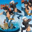 フィギュアーツZERO モンキー・D・ルフィ&トラファルガー・ロー -5th Anniversary Edition- 『ワンピース』[バンダイ]《発売済・在庫品》