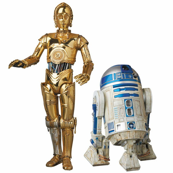 MAFEX No.012 MAFEX - Star Wars: C-3PO & R2-D2(Released)(マフェックス No.012 MAFEX スター・ウォーズ C-3PO & R2-D2)