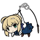 Fate/stay night [UBW] セイバーつままれストラップ(再販)[コスパ]《08月予約》