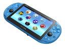 PlayStation Vita Wi-Fiモデル アクア・ブルー[SCE]【送料無料】《発売済・在庫品》