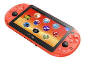 PlayStation Vita Wi-Fiモデル ネオン・オレンジ[SCE]【送料無料】《発売済・在庫品》