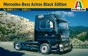 1/24 MERCEDES-BENZ ACTROS BLACK EDITION プラモデル[イタレリ]《取り寄せ※暫定》