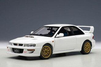 1/18 Scale Diecast Model Car Subaru Impreza 22B STi Version (White)(Back-order)(1/18スケール ダイキャスト・モデルカー スバル インプレッサ 22B STi バージョン (ホワイト))