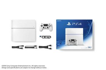 PlayStation4(CUH-1200)グレイシャー・ホワイト[SCE]【送料無料】《取り寄せ※暫定》