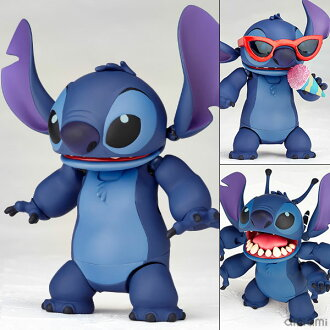 "Figure Complex MOVIE REVO Series No.003 ""Lilo & Stitch"" Stitch (Prototype No.626)(Back-order)(フィギュアコンプレックス MOVIE REVO Series No.003 『リロ&スティッチ』 スティッチ(試作品626号))"