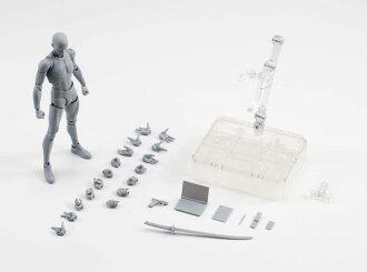 S.H. Figuarts - Body-kun DX SET (Gray Color Ver.)(Released)(S.H.フィギュアーツ ボディくん DX SET(Gray Color Ver.))