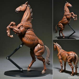 "KT Project KT-008 Takeya Style Jizai Okimono ""Horse"" Painted(Back-order)(KT Project KT-008 タケヤ式自在置物 馬 着彩)"