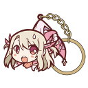 Fate/kaleid liner プリズマ☆イリヤ ツヴァイ ヘルツ! 「プリズマ☆イリヤ」イリヤつままれキーホルダー(再販)[コスパ]《01月予約》
