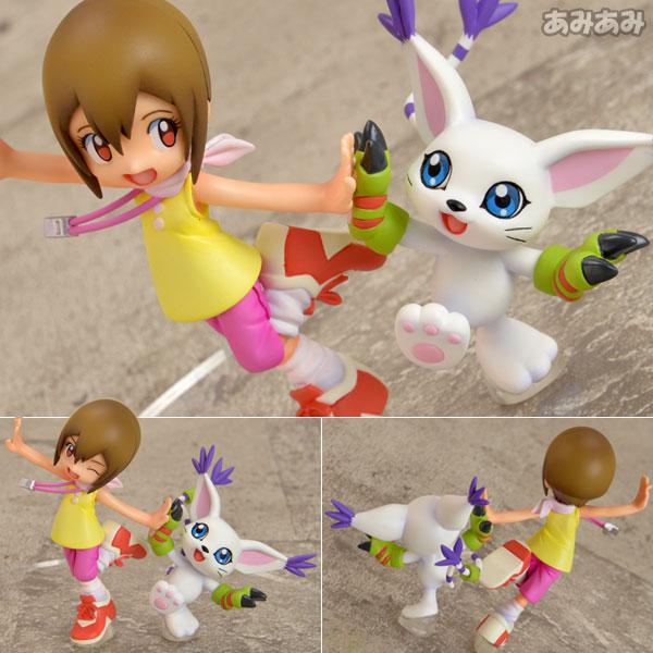 G.E.M. Series - Digimon Adventure: Hikari Yagami & Tailmon 1/10 Complete Figure(Released)(G.E.M.シリーズ デジモンアドベンチャー 八神ヒカリ&テイルモン 1/10 完成品フィギュア)
