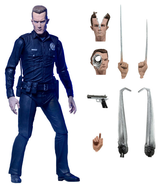 Terminator 2 Ultimate - T-1000 Robert Patrick 7 Inch Action Figure Deluxe Package ver.(Back-order)(ターミネーター2/ アルティメット T-1000 ロバート・パトリック 7インチ アクションフィギュア デラックスパッケージ ver.)