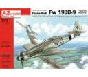 1/72 Fw-190D-9 スペシャルマーキング (JV44 他) プラモデル[AZ Model]《取り寄せ※暫定》