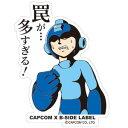 CAPCOM×B-SIDE LABELステッカー ロックマン 罠が・・・[B-SIDE LABEL]《発売済・在庫品》