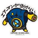 CAPCOM×B-SIDE LABELステッカー ロックマン エアーマン[B-SIDE LABEL]《取り寄せ※暫定》