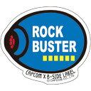 CAPCOM×B-SIDE LABELステッカー ロックマン ロックバスター[B-SIDE LABEL]《発売済・在庫品》