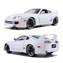 1/18 WildSpeed SkyMission ?FAST&FURIOUS7 1995 Toyota Supra - white[Jada Toys]《03月仮予約》