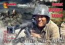 1/72 ソ連狙撃兵部隊24体機銃付き・WW2 プラモデル(ソフトプラ)(再販)[マース]《取り寄せ※暫定》