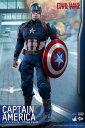 【ムービー・マスターピース】『シビル・ウォー/キャプテン・アメリカ』1/6 キャプテン・アメリカ[ホットトイズ]【送料無料】《在庫切れ》