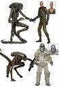 エイリアン/ 7インチ アクションフィギュア シリーズ8: 4種セット[ネカ]【送料無料】《発売済・在庫品》