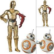 マフェックス No.029 C-3PO & BB-8 『スター・ウォーズ/フォースの覚醒』[メディコム・トイ]【送料無料】