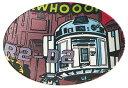 スター・ウォーズ〈コミッククラッシュ〉 MPL20P 薄肉メラミンプレート R2-D2[スケーター]《取り寄せ※暫定》