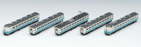 98216 JR 485系特急電車(上沼垂色・白鳥)基本セットB(5両)[TOMIX]《発売済・在庫品》