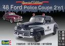 1/25 48 フォード ポリスクーペ プラモデル[アメリカレベル]《取り寄せ※暫定》の画像