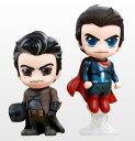 【コスベイビー】[サイズS] バットマン(ナイトメア/マスクなし版)&スーパーマン(フライング版)〈2体セット〉[ホットトイズ]《発売済・在庫品》