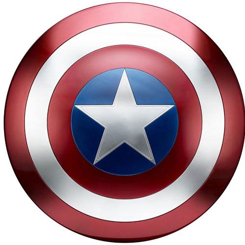 『マーベル・コミック』【ハズブロ レプリカ】「レジェンド」キャプテン・アメリカ シールド[ハズブロ]《在庫切れ》