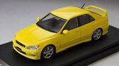 1/43 トヨタ アルテッツァ RS 200(スポーツバージョン) スーパーブライトイエロー[MARK43]《09月予約》
