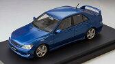 1/43 トヨタ アルテッツァ RS 200(スポーツバージョン) ブルーマイカ[MARK43]《09月予約》