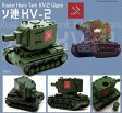 ガールズ&パンツァー ソ連 KV-2 プラモデル[EBBRO]《未定月予約》