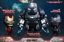 コスベイビー アイアンマン2 サイズS ウィップラッシュ・マーク2&アイアンマン・マーク6&ウォーマシン(3体セット)[ホットトイズ]《発売済・在庫品》