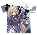 Fate/Grand Order ジャンヌ・ダルク フルグラフィックTシャツ/ホワイト-M(再販)[コスパ]《01月予約》