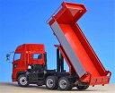 1/50 日野プロフィアFS 6×4 ダンプトラック赤 フルキャブハイルーフ(黒シャシー+メッキ)[ケンクラフト]【送料無料】《発売済・在庫品》