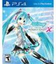 PS4 北米版 Hatsune Miku Project DIVA X[セガゲームス]《発売済・在庫品》