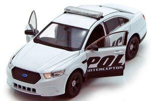 1/24 フォード ポリスカー インターセプター (ホワイト)(再販)[WELLY]…の画像