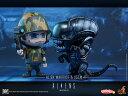 コスベイビー 『エイリアン2』[サイズS] エイリアン・ウォーリアー&海兵隊員(2体セット)[ホットトイズ]《11月仮予約》