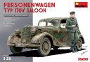 1/35 ドイツ 170V パーソネンワーゲン 兵隊1体付[ミニアート]《発売済・在庫品》