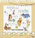 くまのプーさん 2017年カレンダー[サンスター文具]《取り寄せ※暫定》