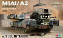 1/35 M1A1/A2 エイブラムス w/フルインテリア 2 in 1 プラモデル[ライフィールドモデル]《在庫切れ》
