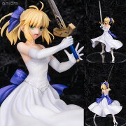Fate/staynight [Unlimited Blade Works] セイバー 白ドレスVer. 1/8 完成品フィギュア[ベルファイン]